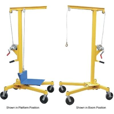 New Portable Worksite Crane Lifter-2 500 Lb. Capacity
