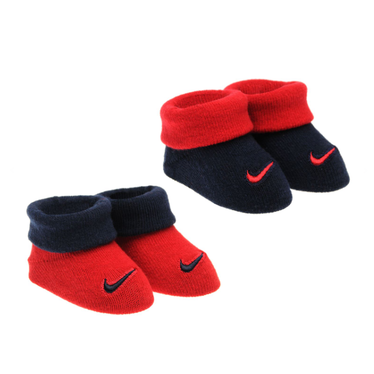 Lot de 2 paires de chaussons NIKE