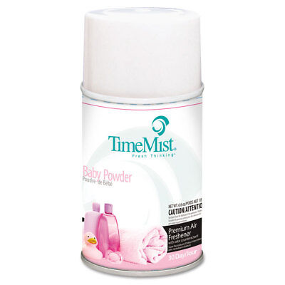 Timemist Baby Powder (TimeMist Metered Fragrance Dispenser Refills Baby Powder 5.3 oz 12/Carton )