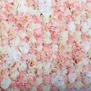Blush Pink Flower Wall with Stand For Sale!!!