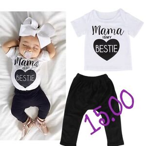 Brand new with tags super trendy baby & toddler outfits!