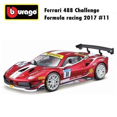Bburago 1:24 Ferrari 488 Challenge Formula racing 2017 #11