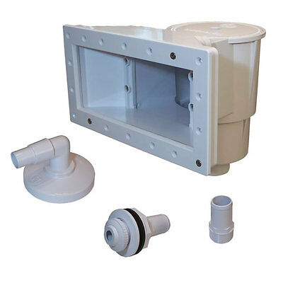 New Hayward Sp1091wm Wide Mouth Above Ground Swimming Pool Skimmer Kit Ebay