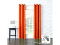 Habitat rug and matching Ikea curtains