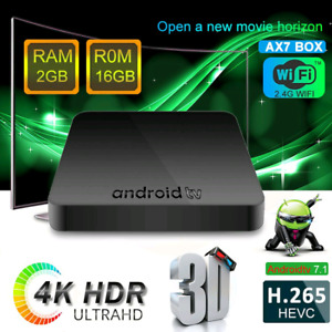 A7X Android TV Top Box
