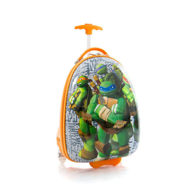 Heys Kids Luggage TMNT Carry on Hardcase Rolling Suitcase Ninja ...