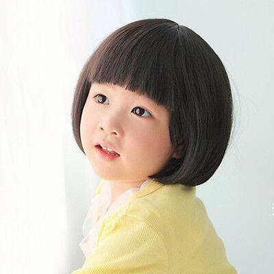 J6AJ Baby Girl Wig hair Toddler Child Costume Straight Adjustment M14-144 - Toddler Wigs
