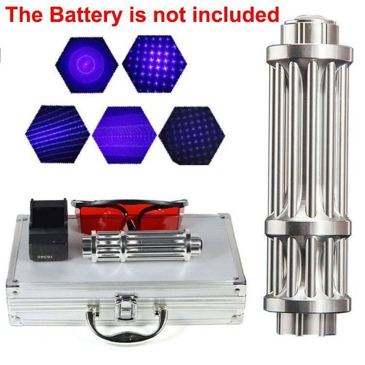 450nm Blue Beam Light Lazer Powerful Laser Pointer Military