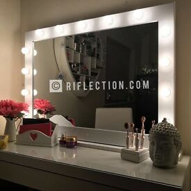 Hollywood Vanity Makeup Mirrors - Cheapest In UK