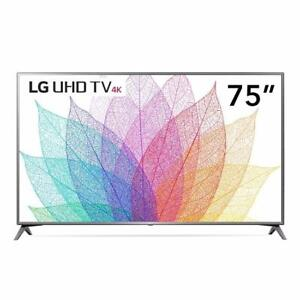 "LED 75"" UHD 4K Smart WEBOS 3.5 LG ( 75UJ657A )"