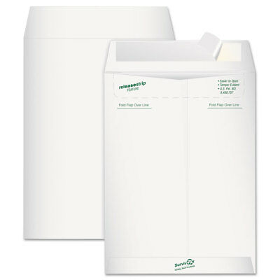 Survivor Tyvek Mailer Side Seam 9 X 12 White 15pack R1419