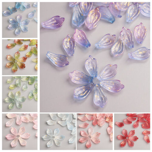50Pcs 8mm Czech Lampwork Glass Star Pressed Spacer Beads HH6985 CHOOSE COLOR