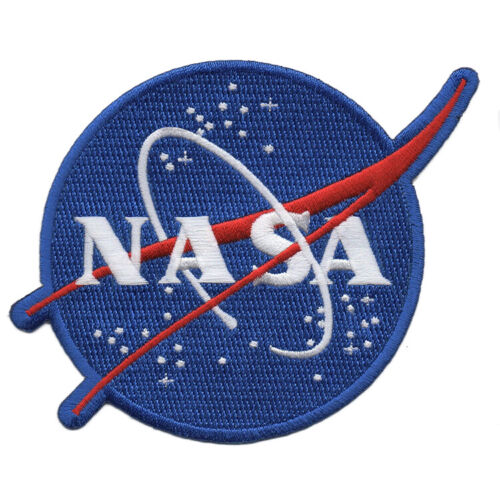 """NASA Meatball 1-1/2"""" Full Embroidered Emblem FREE SHIPPING"""