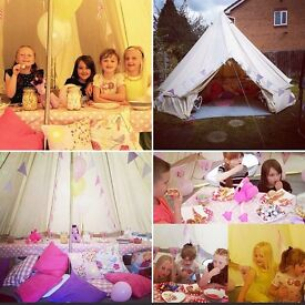 A Sucessful Party Teepee Business