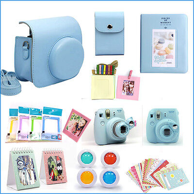 Gmatrix 17 in 1 Fujifilm Instax Mini 8 Case Bag Accessory Bundle Best Gift