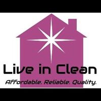 $30/HR for a quality home cleaning