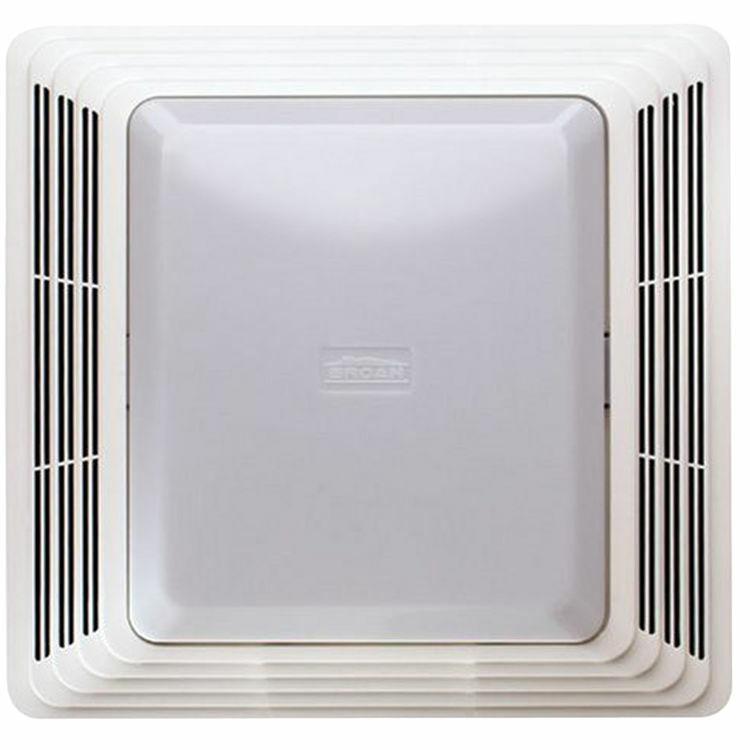 Broan 678 White Bathroom Ventilation Fan with Light