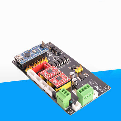 New 3 Axis Usb Cnc Controller Kit Control Card Nano Board A4988 Usbcnc