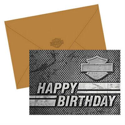 Harley-Davidson® Bar & Shield Birthday Cards | Boxed Set of 2 | 7x5 HDL-20075  - Harley Davidson Birthday