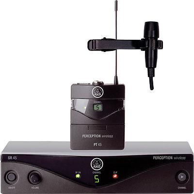 New AKG Perception Wireless lavalier Presenter Set Best Deal eBay! Auth (Best Wireless Presenters)