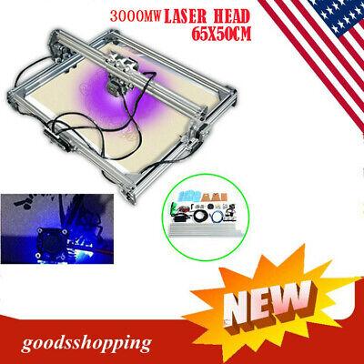 3000mw 2-axis Diy Desktop Mini Cnc Laser Engraver Cutter Wood Cut Machines