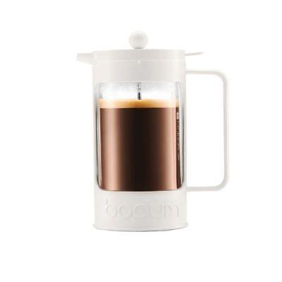 Bodum Bean Kaffeebereiter aus Borosilikatglas French Press Pressfiltersystem