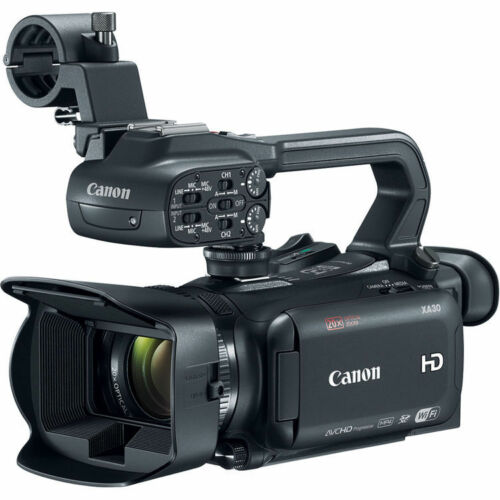 Canon XA30 Digital Camcorder - 3.5 - Touchscreen OLED - CMOS