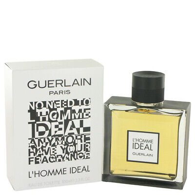 L'homme Ideal by Guerlain 3.3 oz 100 ml EDT Cologne Spray for Men New in Box