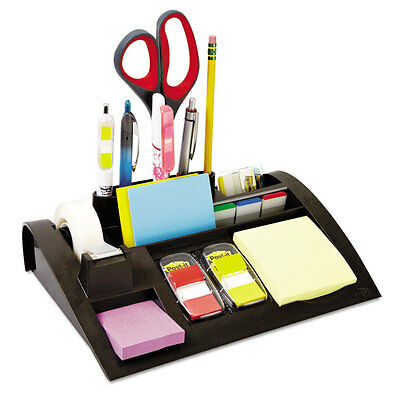 Post-it Notes Dispenser With Weighted Base Plastic 10 14 X 6 34 X 2 34