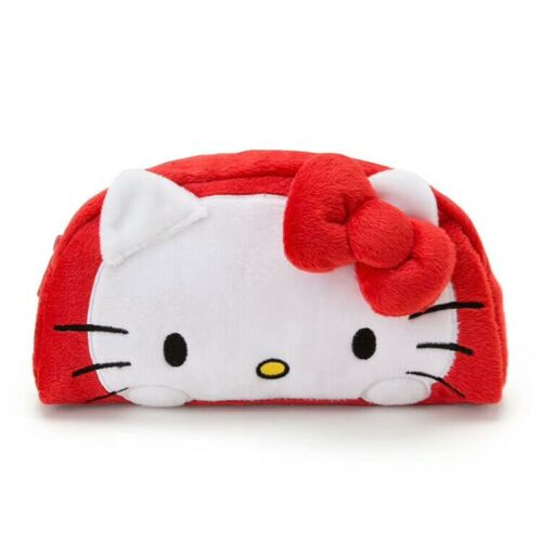 hello kitty white lovely Makeup Bag Cosmetic Case Storage Handle Organizer gift