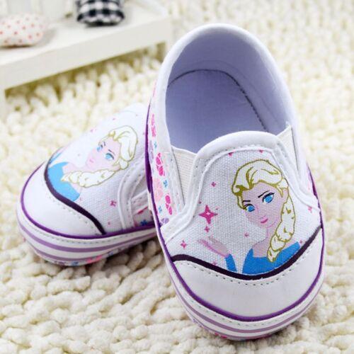Baby Girls Elsa Frozen Princess White Ballet Summer Shoes