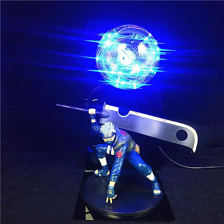 Naruto Shippuden Sharingan Hatake Kakashi w//Seversword Figures Toys Gifts Set