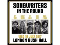Songwriters In The Round (Bush Hall) - The Shires + Jeff Cohen + Nikhil D'Souza + Kerri Watt