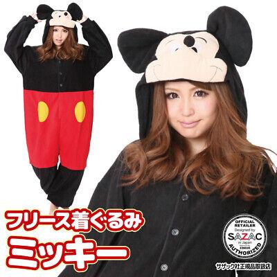 Sazac Mickey Maus Kostüm Halloween Disney Freie Größe von Japan