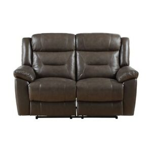 Leather Love Seat for Sale-Pickering