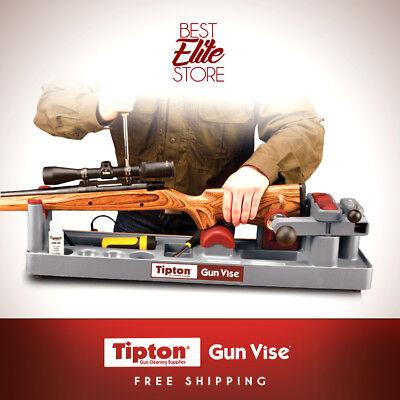 Rifle Gun Cleaning Kit Tipton Best Ultra Gun Vise Gunsmithing Tool Bench