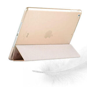 Luxury Slim Smart Wake Leather Case Cover for Apple iPad5 Air London Ontario image 3