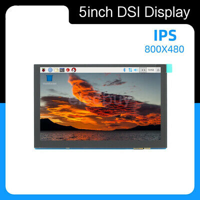 5 Inch Dsi Ips Lcd Capacitive Touch Display For Raspberry Pi 800480 Wide Angle