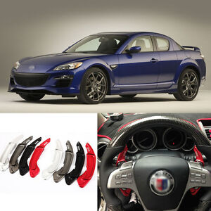 New Alloy Steering Wheel Shift Paddle Shifter Extension For Mazda 3/Mazda 6