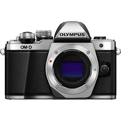 Olympus OM-D E-M10 Mark II Mirrorless Digital Camera Body [Silver]Olympus Dealer