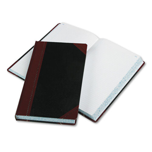 Boorum & Pease Record/account Book Record Rule Black/red 500 Pages 14 1/8x8 5/8