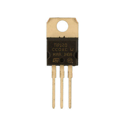 10pcs Tip120 To-220 Darlington Transistors Npn Best Uk