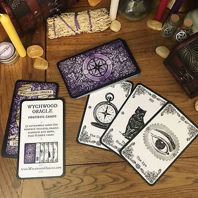 Wychwood Oracle Fortune Cards. Oracle Cards. Fortune Telling Cards. Oracle Deck.