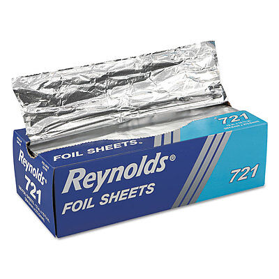 Reynolds Wrap Pop-Up Interfolded Aluminum Foil Sheets 12 x 10 3/4 Silver 500/Box ()