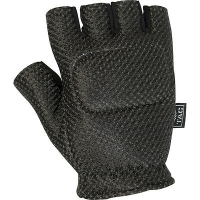 Valken V-Tac Half Finger Soft Back padded gloves - paintball - XL - NEW