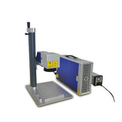 Easy Use Raycucs 20w 30w Color Mini Desktop Fiber Laser Engraving Marking Machin