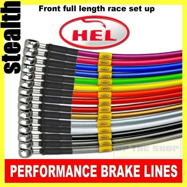 Yamaha XJR1200 1995-98 HEL Stainless steel Brake lines / hoses Race