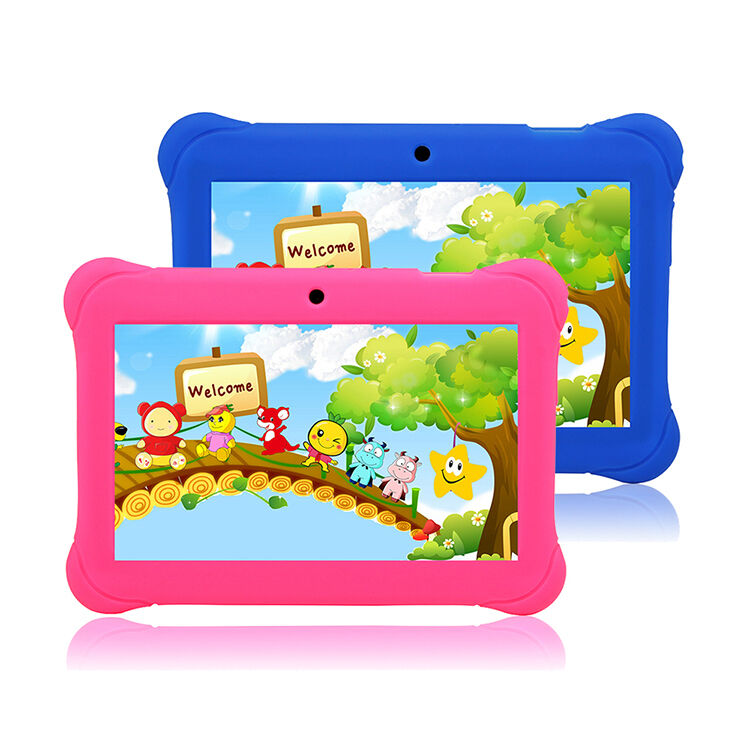 $49.99 - 7'' inch Quad Core HD Tablet for Kids Android 4.4 KitKat Dual Camera WiFi