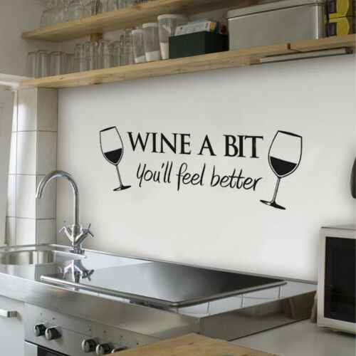 Wine-A-Bit-Vinyl-Wall-Art-Wall-Quote-Sticker-Dinning-Kitchen-Removable-Decals-GY