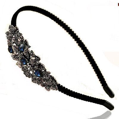 New Women Fashion Crystal Rhinestone Headband Chain Head Piece Hair Band Jewelry